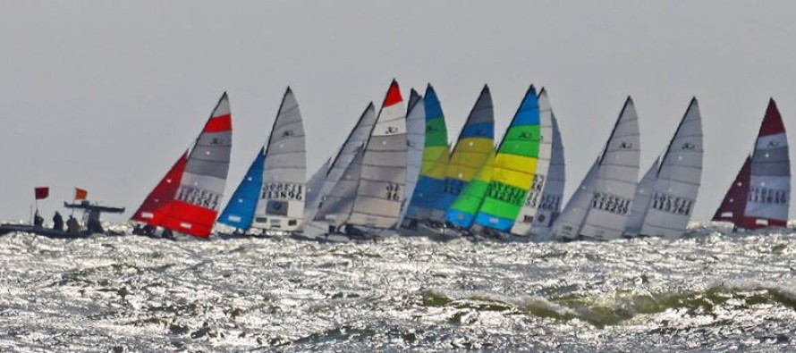 Sept 17: Initial Weather Forecast for Hobie 16 Championships